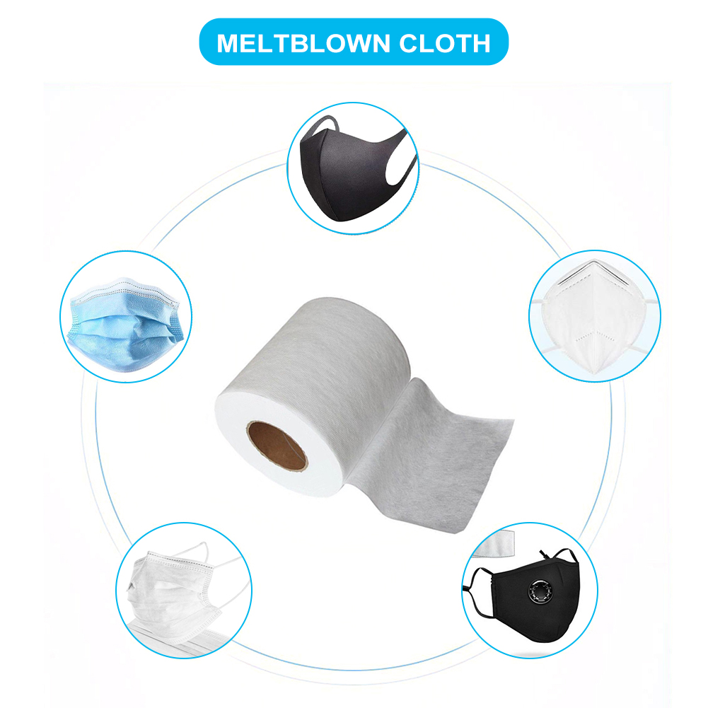 Filter Fabric Meltblown For Mask KN95 KF94 Original Cloth Material Nonwoven Fabric Filter Cloth Meltblown Filter Anti-dust