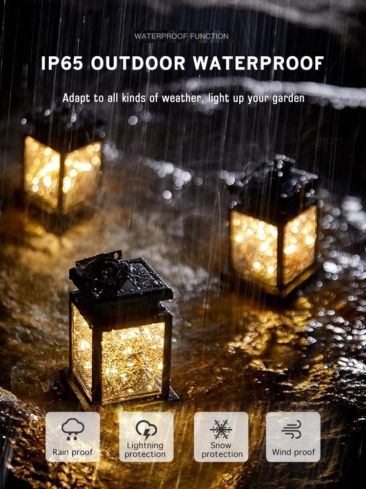 lowest price Feimefeiyou 2pcs lot chinese eastern Lantern Style Waterproof LED Solar Landscape Light Garden Lawn Yard Park Square Decoration