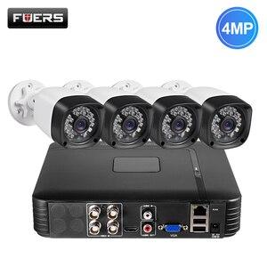 Image 1 - Fuers DVR מצלמה 4CH 8CH 1520P 4MP בית מצלמה אבטחת מערכת ערכת חיצוני IR עמיד למים וידאו מעקבים טלוויזיה במעגל סגור מערכת AHD HDMI