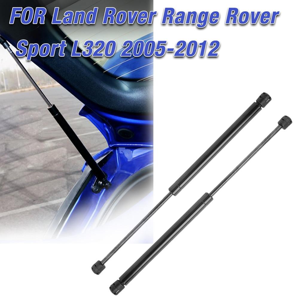 Pair Hood Lift Support Gas Shock Strut For Land Rover Range Rover Sport LR3 LR4