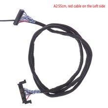 FIR E51PIN LVDS Cáp 2 Ch 8 Bit 51 Chân 51pin Dual 8 LVDS Cáp Bảng Điều Khiển Màn Hình LCD