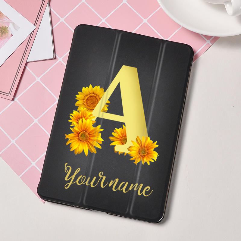 Name Custom Per Tablet Cover For IPad 2018 Pro 9.7 10.5 11 Air 1 2 Stand Shell Anti Drop/Dust For IPad 2 3 4 Mini 1 2 3 4 5 Case