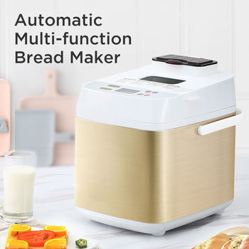 PE6280  Automatic Multifunction mini Bread Maker Intelligent User-Friendly Bread baking Machine Breadmaker Cooking Tools 450w 22 bread machine the bread maker uses fully automatic and multifunctional intelligence sprinkled with fruit cake