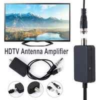 Nuevo receptor de tierra para interiores HDTV Fox Antena satelital HD TV amplificador de señal de Antena Anten Booster Tuner DVB-T DVB-T2 DVB DTV