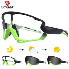 X-TIGER Polarized & Photochromic Cycling Glasses Outdoor Cycling Goggles Bike Glasses Sport