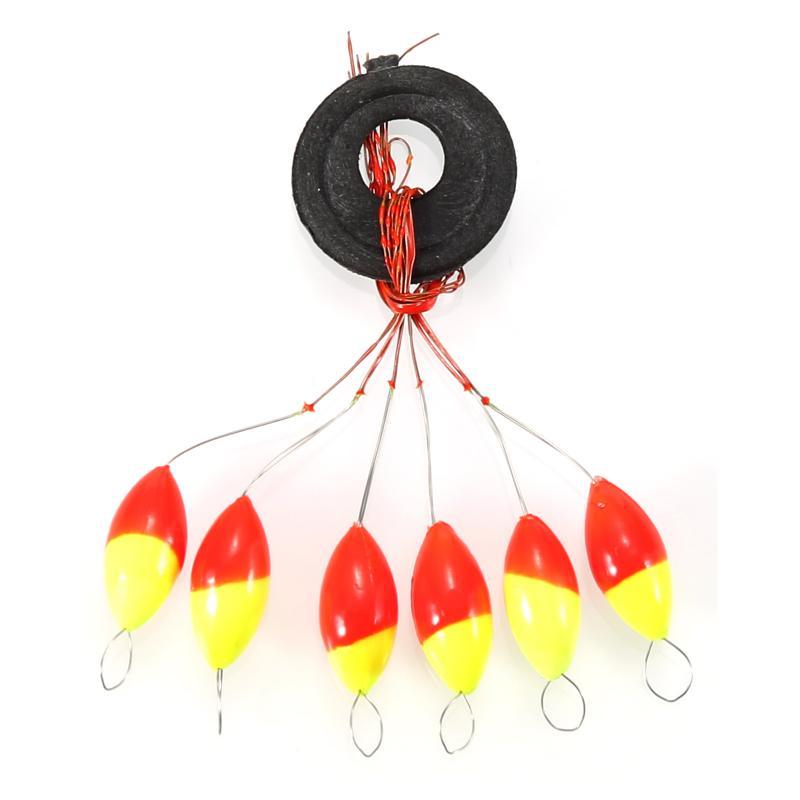 5pcs/lot 2g Colorful Foamed Polymer Materials Portable Fishing FloatAccessories Fast Fishing Artifact Fishing Float Device 2020