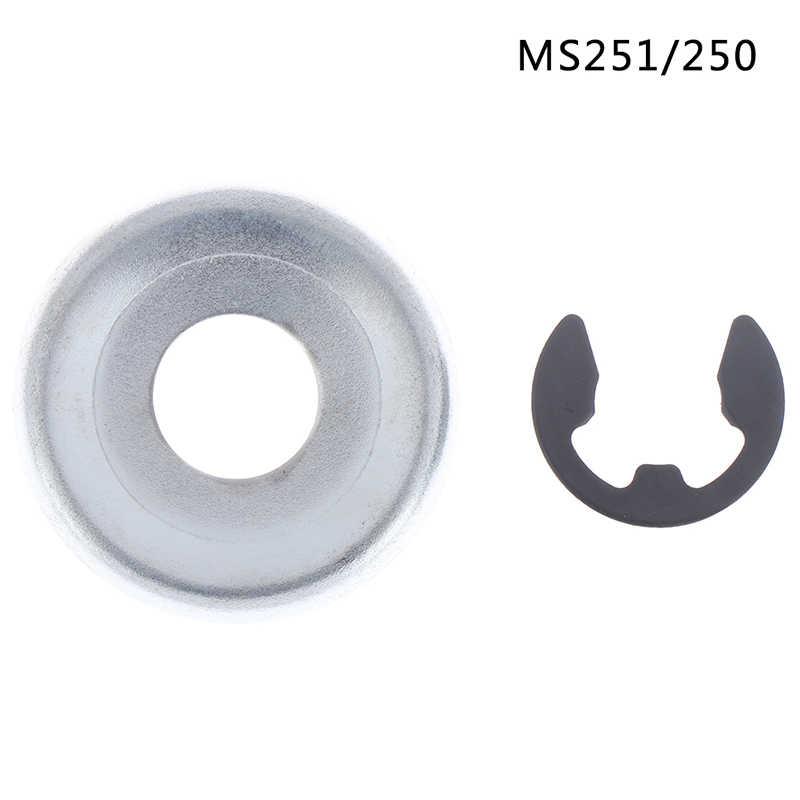 MS piła łańcuchowa 251 / 250 koło pasowe łańcucha bęben sprzęgła zębatka podkładka E-zestaw klipsów