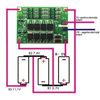 BMS 3S 40A Cân Bằng PCM 18650 Pin Lithium Ban Bảo Vệ 3S BMS Li-ion Sạc Sạc Với Cân Bằng 12.6V Cho Máy Khoan Động Cơ