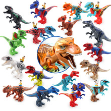 Jurassic Dinosaurs World Baby Music Dinosaurs Figures Building Tyrannosaurus Blocks Kids Toy B516 elplp88 v13h010l88 for lamp projector eh tw5350 eh tw5300 eb s27 eb x31 eb w29 eb x04 eb x27 eb x29 eb x31 eb x36 ex3240