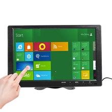 10.1 Polegada HDMI IPS Tela de Toque Capacitivo 1280x800 Monitor de LED para PS3 4 Janelas 7 8 10 VGA/AV USB Do Computador PC LEVOU Exibição Carro