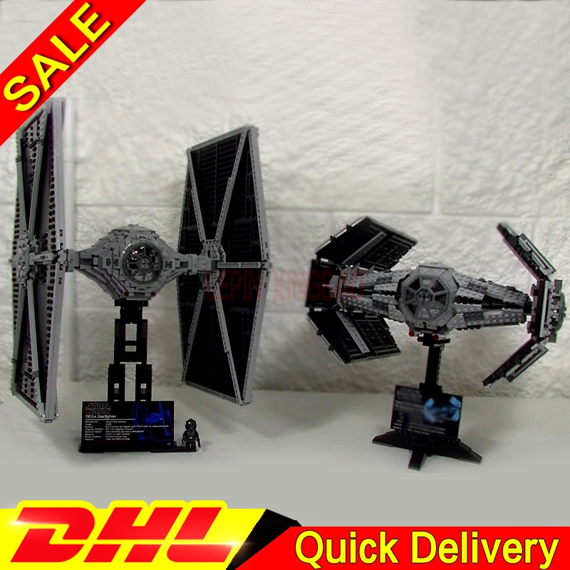 LP 05036 Star Wars TIE Fighter LP 05055 Rogue One USC Fighter Building Blocks Bricks Lepins Toys Gift Legaoings 75095 10175