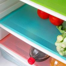 4 шт./компл. холодильник Pad антибактериальное обрастания объектива камеры, устойчивая к плесени, коврики для холодильника влагостойкий Водонепроницаемый Pad Tailorable холодильник коврики
