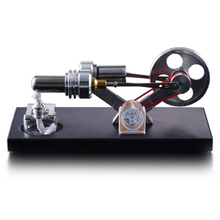 Stirling engine model metal structure power generation-novelty gifts-new energy environmental gifts stirling engine micro engine external combustion engine metal model m16 01 02 d