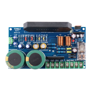 Image 4 - GHXAMP STK401 140 Thick Film Music Power Amplifier Board High Power 120W+120W with UPC1237 speaker protection