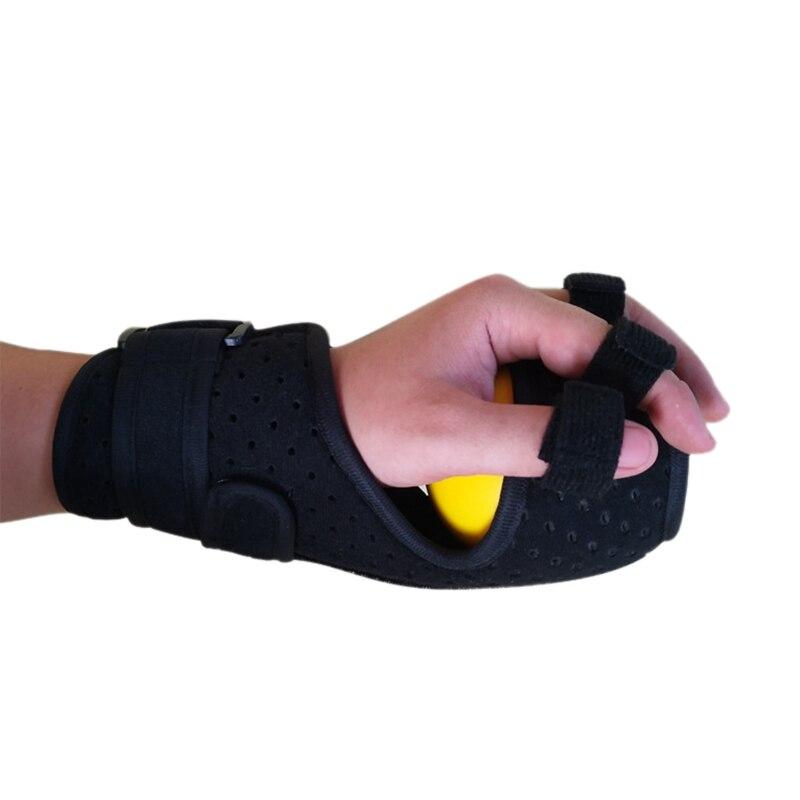 Finger Grip Power Training Ball Splint Finger Orthosis Vibration Massage Rehabilitation Exercise Fitness Equipment