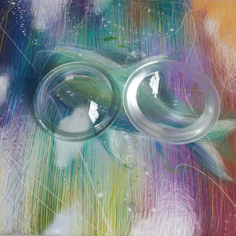 da mina industrial da lente de vidro convexa côncava interna