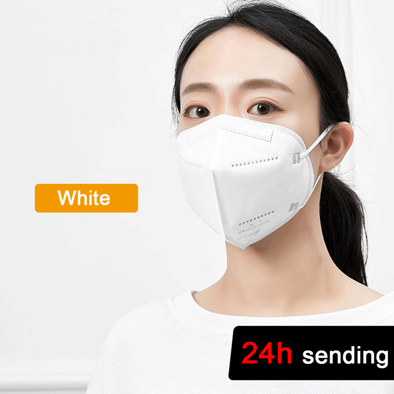 Face Mask Mouth Masks For Adult Anti Dust Pollution Filter PM2.5 Protective Hygiene Respirator Mask With Valve