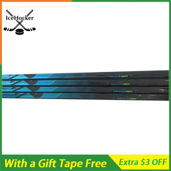 The Latest Ice Hockey Sticks N series Nexus GEO Super Light 385g Carbon Fiber Sticks Free Hockey Tape настенное бра n light n light 09 20 09 2021 0311 01 gold dark chrome