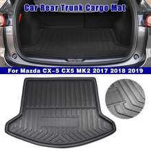 Cargo Liner Boot Tray Rear Trunk Cover Matt Mat Floor Carpet Kick Pad Mud Non slip For Mazda CX 5 CX5 MK2 2017 2018 2019 2nd