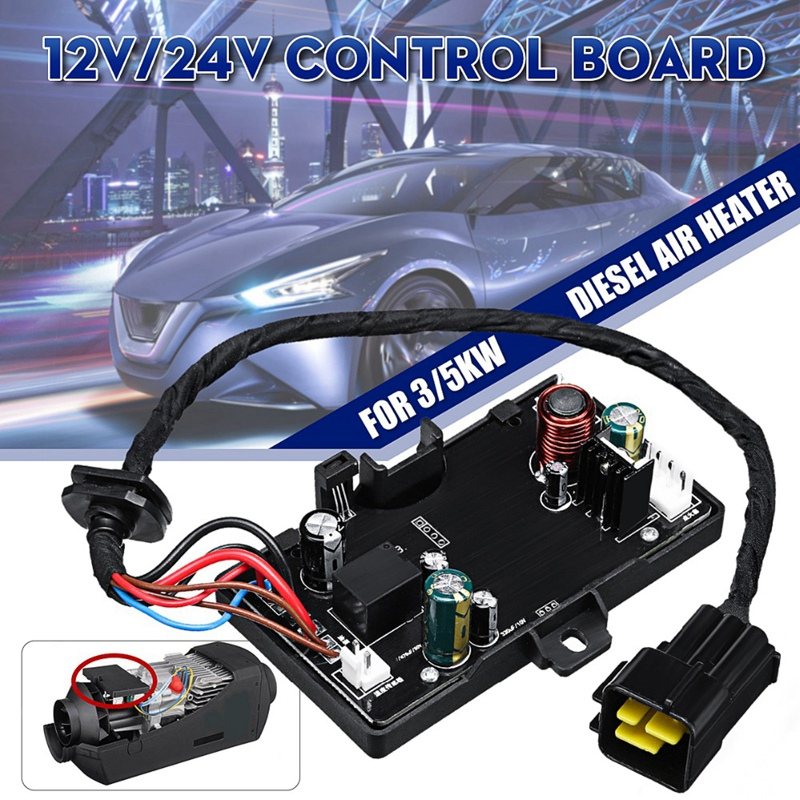 NEW-Air crude oil Heater Parking Heater Controller Board Monitor Black