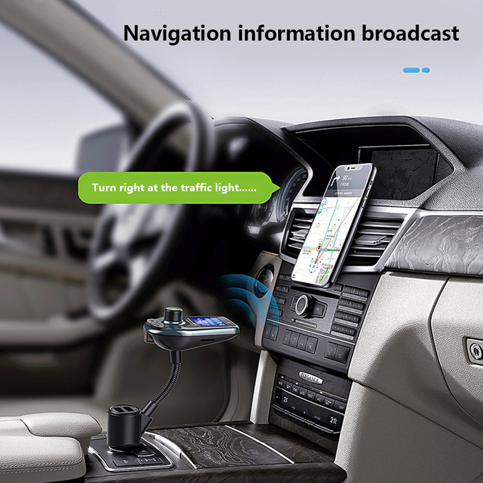D446 Car Kit Bluetooth-Audioempfänger Universal FM 2.1 EDR