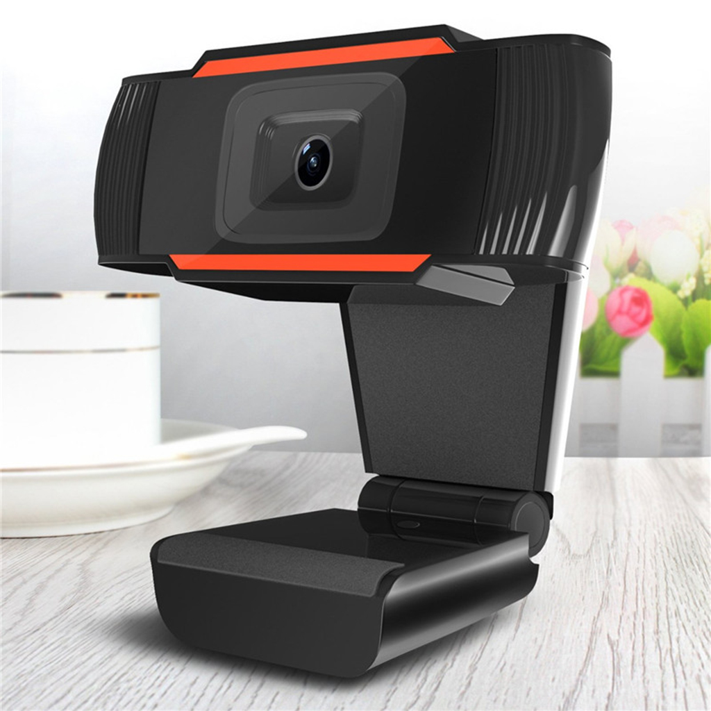 Rotatable HD Webcam PC Mini USB 2.0 Camera 12.0M Pixels Video Recording Optical lens high precision and no distorted pictures