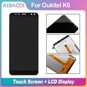 Image 2 - AiBaoQi nouveau Original 5.99 pouces écran tactile + 2160x1080 LCD écran assemblée remplacement pour Oukitel K6 téléphone