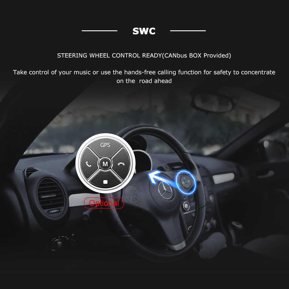 2DIN Android 10 รถวิทยุสำหรับ Ford Focus 2 3 MK2 Mondeo 4 KUGA Fiesta Transit Connect S-C MAX มัลติมีเดีย GPS Navigationhead หน่วย