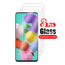 3Pcs For Samsung Galaxy A51 Tempered Glass Screen Protector