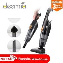 Deerma portátil handheld aspirador de pó doméstico silencioso aspirador forte sucção casa coletor poeira