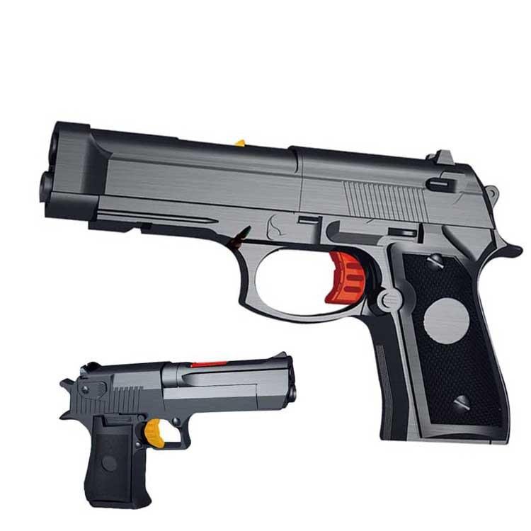 High Quality Children Water Bomb Toy Gun Model Pistol New Plastic Pistol Soft Bullet Gun Box For Children Birthday Gifts