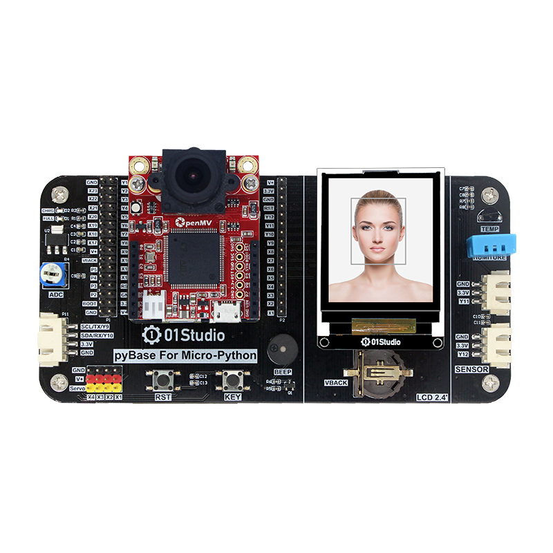 PyAI- OpenMV 4 H7 Development Board Cam Camera Module AI Artificial Intelligence Python Learning