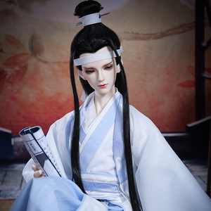 Image 2 - BJD SD Dolls Miaojun IOS 70cm Male 1/3 Body Model Boys Eyes High Quality Toys Shop Resin Figures Free Eyes