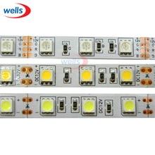 free shipping LED Strip 5050 fiexible light 60Led/m,5m 300Led,DC 12V,White/Warm White/Red/Green,Blue/ RGB color цена 2017