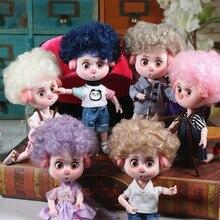 1/12 BJD 26 шарнирное тело 15 см мини кукла счастливая свинка ob11 кукла с макияжем обувной набор Подарочная игрушка