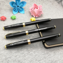 Gold wedding gift favors for bestman personalized gifts guest good roller pen custom free with your wish text
