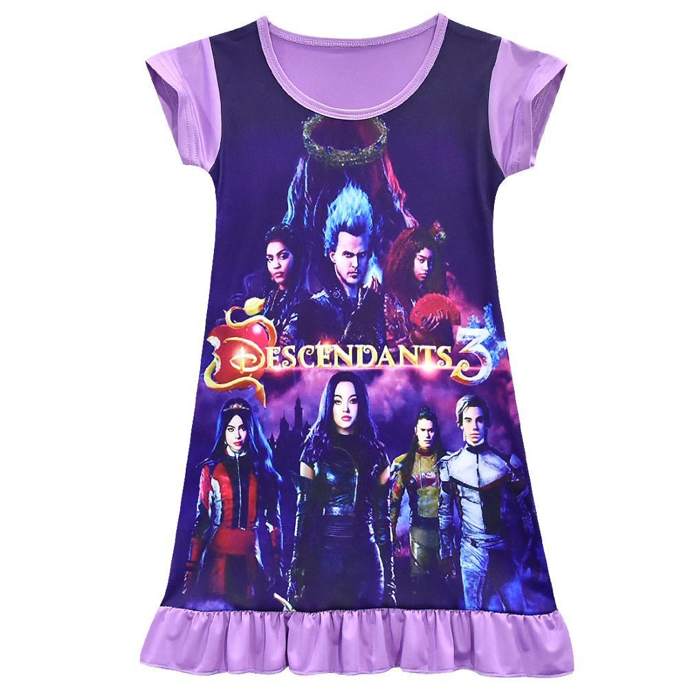 Descendants Girls Disney 3 Wicked Showdown Nightgown