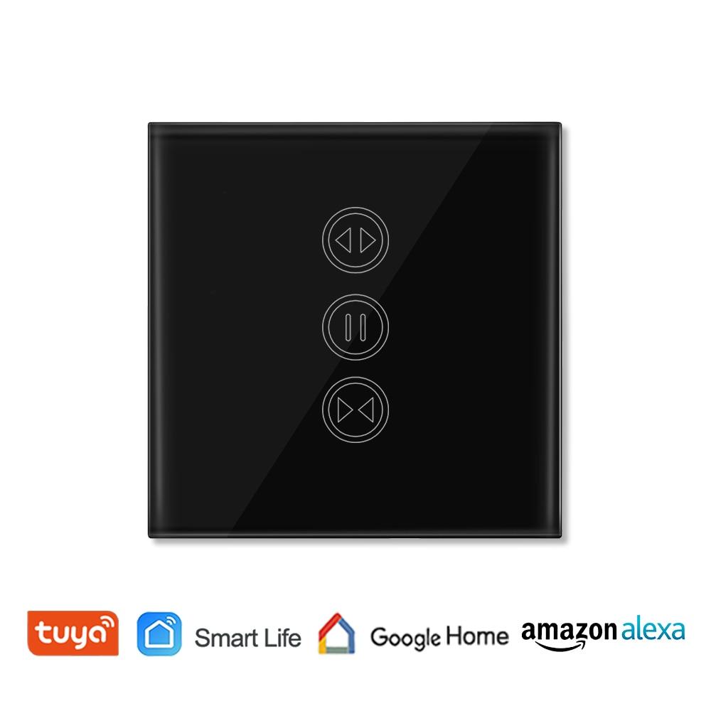 Tuya Akıllı Yaşam WiFi Perde Anahtarı için Elektrik Motorlu Perde Kör Panjur, Google Ev, amazon Alexa Ses Kontrolü
