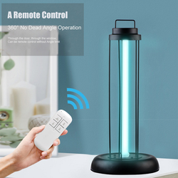 38W 60W UV Desinfect Lamp Sterization Ultraviolet Lamps UV Germicidal Light Remote Control Timer Disinfection Air Ozone