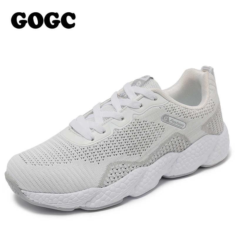 GOGC Nữ Giày Nữ Đế Giày Nữ Giày Nữ Giày Nữ Đen Giày Nữ Đế Giày Tennis G6502