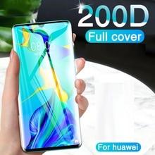 Гидрогелевая пленка для Huawei P40 pro, защитная пленка для экрана Huawei Nova 7 pro, 7 SE, Honor 30 pro, Play 4T Pro, P30 pro, нанопленка