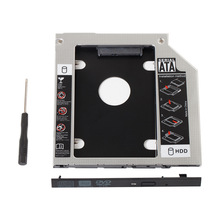 12.7MM SATA 2nd HDD SSD Hard Drive Caddy for HP Probook 4510s 4530s 6440b 6550b