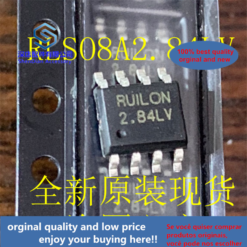 10pcs 100% Orginal And New RLSO8A2.84LV RLS08A2.84LV SOP8 RUILON 2.84LV Best Qualtiy