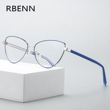 RBENN 2020 New Cat Eye occhiali da lettura donna moda Anti Blue Light Computer presbiopia occhiali con diottrie 0.5 0.75 1.75