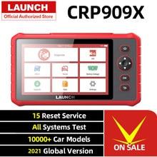 New LAUNCH X431 CRP909X OBD2 Car Scanner Automotive Diagnostic Tool Auto Scan Diagnoses All system PK MK808 Original