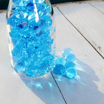 10000 sztuk wody koraliki Mix kolor krystaliczne błoto hydrożel żel polimerowe Jelly kulki Home Decor hydroponika tęczową butelkę DIY 8- 12mm tanie i dobre opinie Kryształ gleby