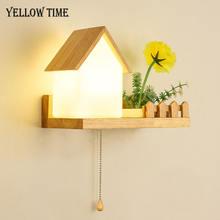 Настенный светильник e27 blubs домашнее декоративное бра для