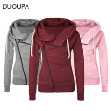 DUOUPA 2019 Net Red People Recommended  Autumn Jacket Long-sleeved Lapel Hooded Zipper Pocket Cardigan Coat Hot Explosion