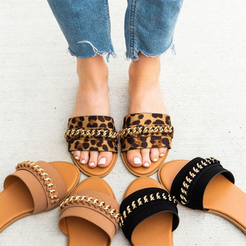 Open toe chain sandals | GlintLife | perfect summer slippers on sales !