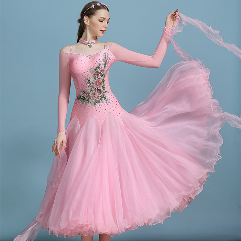 Ballroom Dance Dress Women Smooth Ballroom Dress Standard Waltz Dress For Ballroom Dancing Foxtrot Dress Modern Dance Costumes